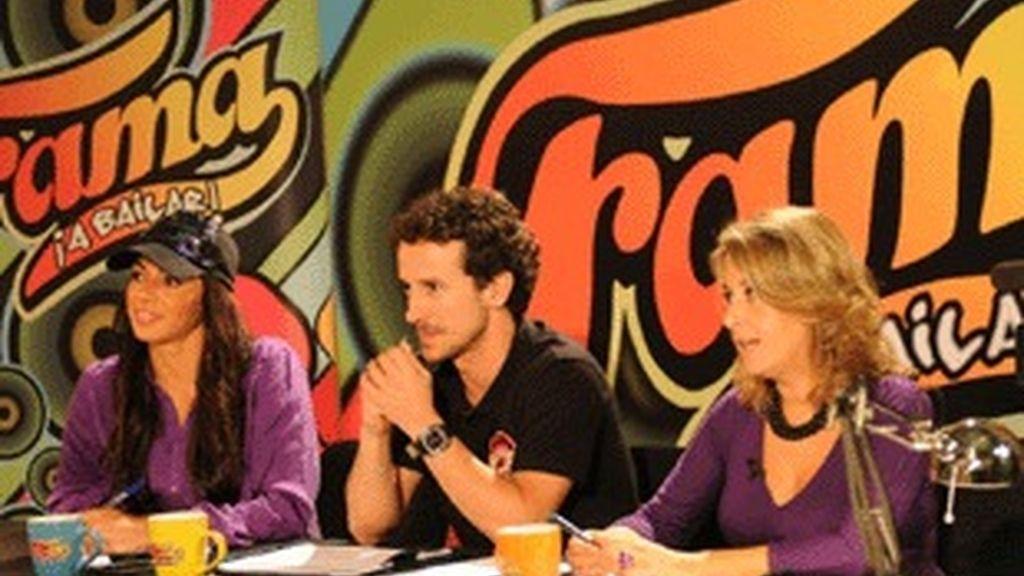Marbelys Zamora, Víctor Ullate Roche (profesores de 'Fama') y Marta Moure (directora de casting).