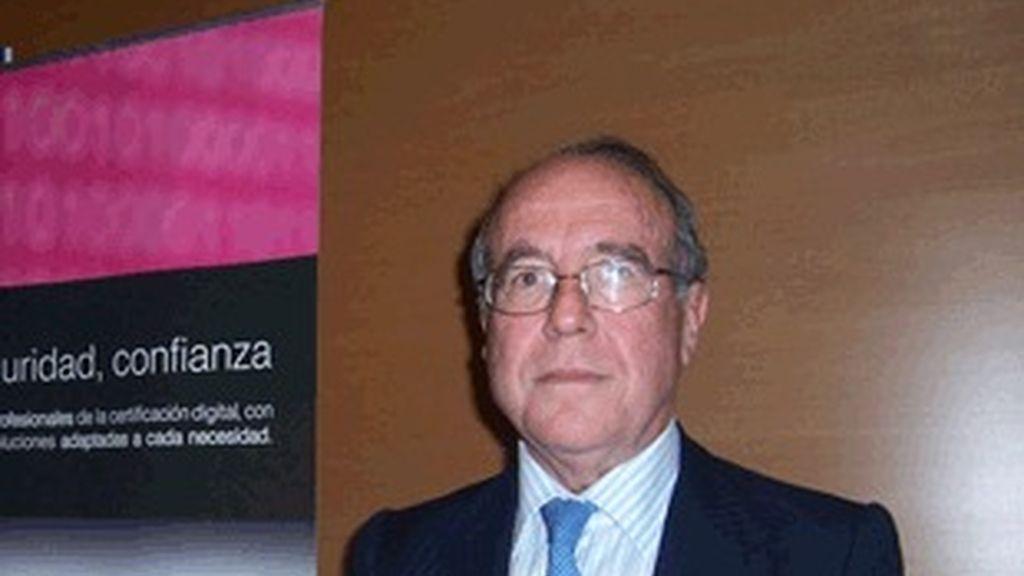 El presidente de la Comisión Nacional de la Competencia, Luis Berenguer.