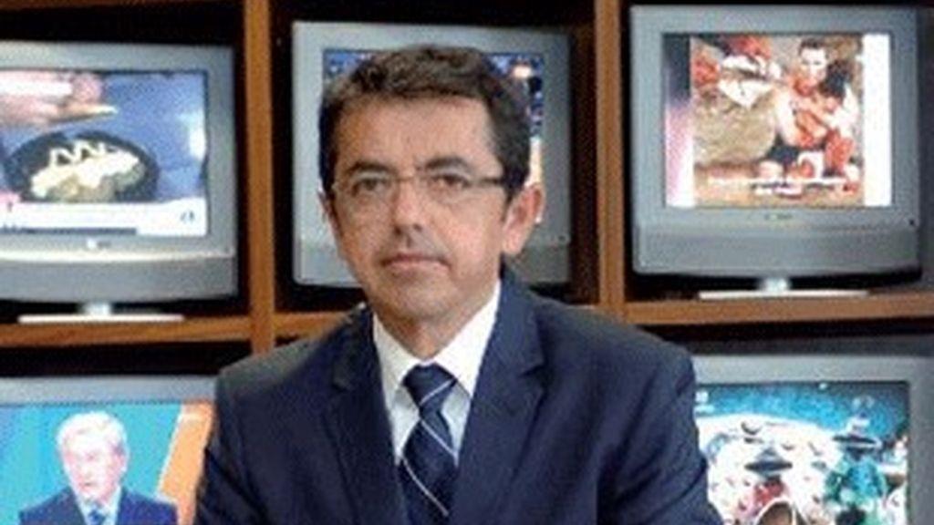 El director general de RTVA, Pablo Carrasco.
