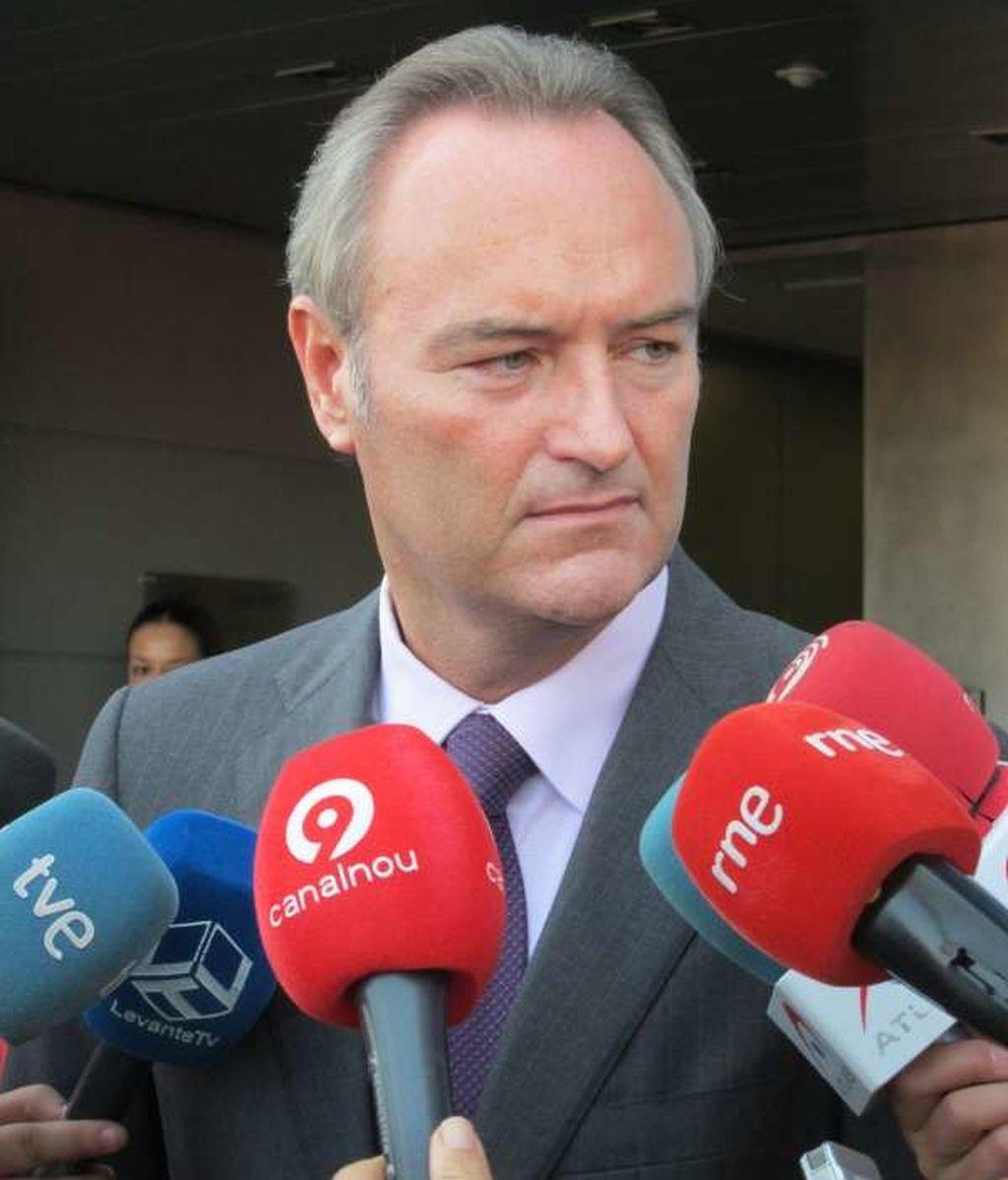 Alberto Fabra, presidente Comunidad Valenciana