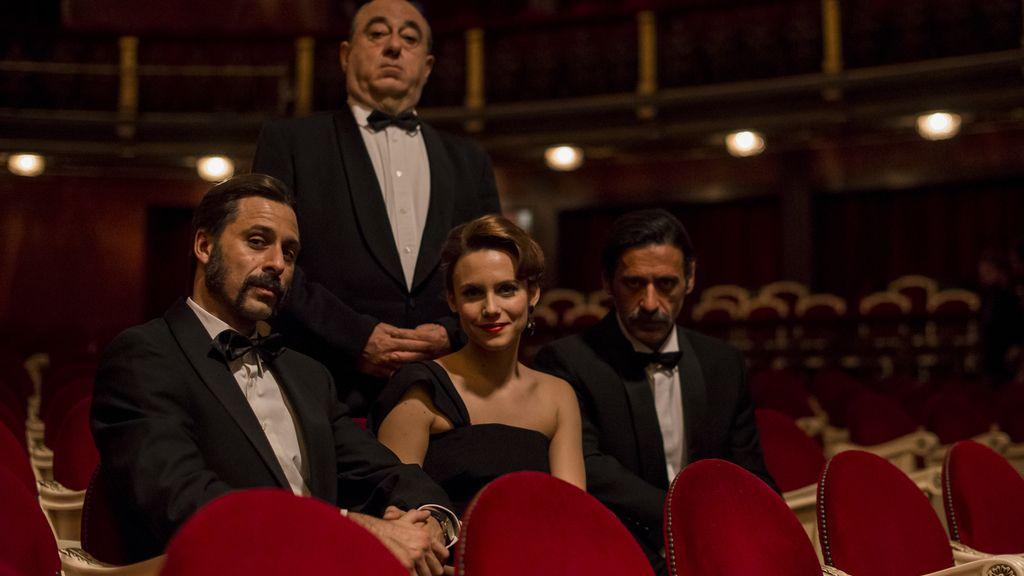 Los actores que dan vida a los personajes principales en El Ministerio del Tiempo