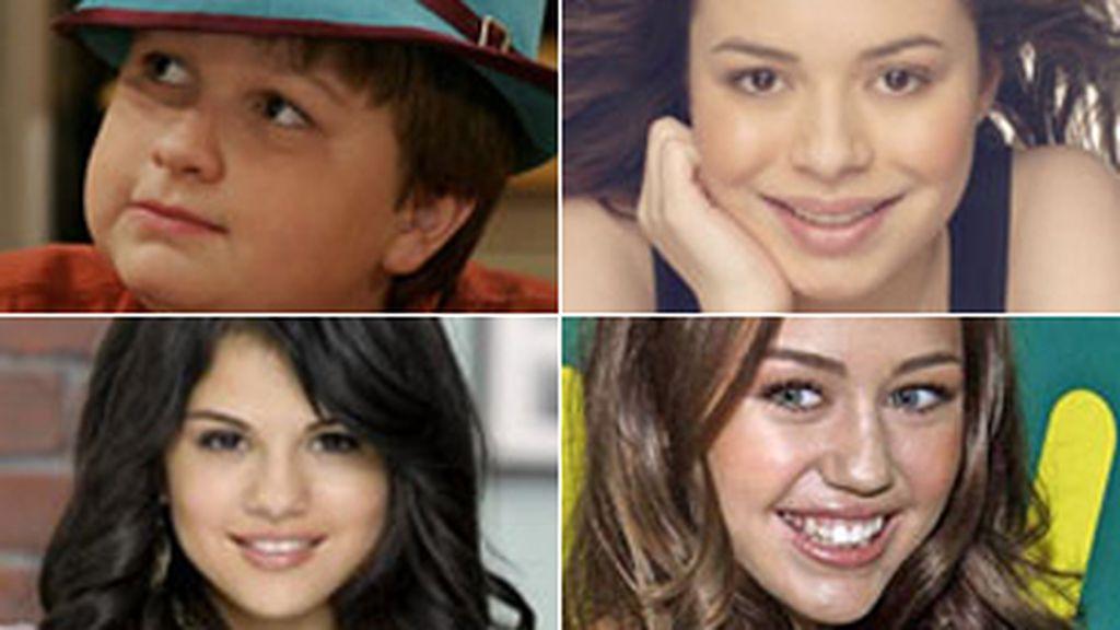 Angus T. Jones, Miranda Cosgrove, Selena Gómez y Miley Cyrus encabezan la lista de los mejor pagados.