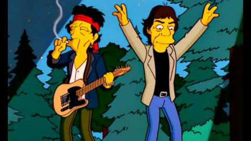 Los Rolling aterrizaron en los bosques de Springfield
