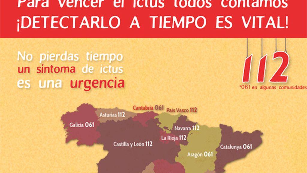 mapa ictus