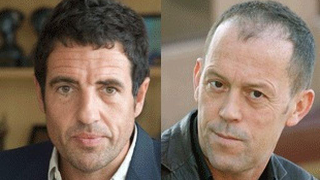 Daniel Écija (izquierda) y Luis San Narciso.