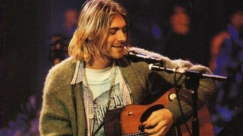 Kurt Cobain en MTV Unplugged