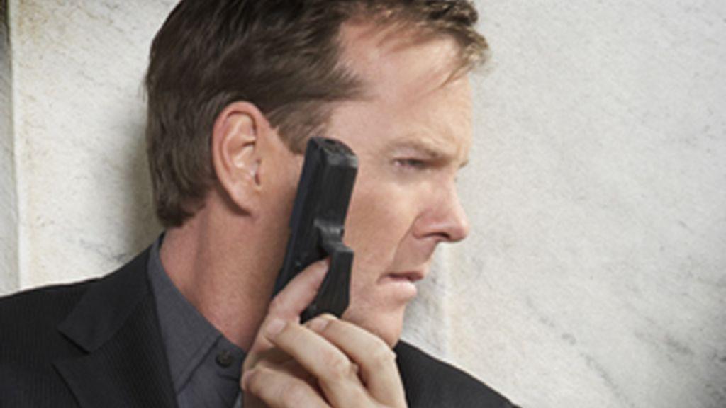 Kiefer Sutherland en su papel de Jack Bauer (24, Fox y Antena 3).