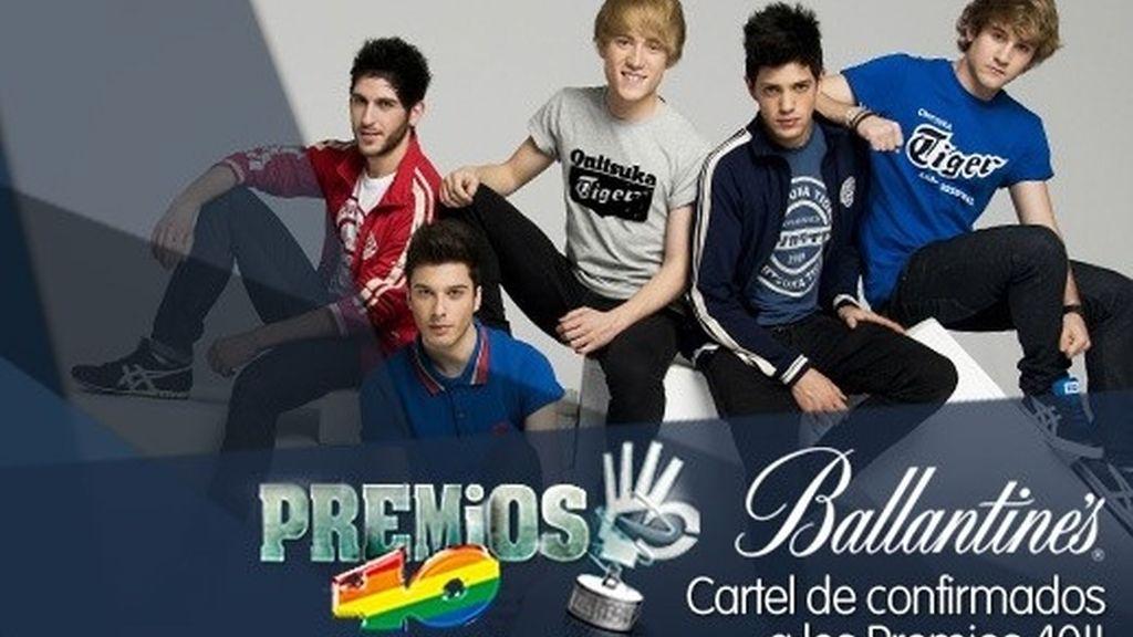 Así es el cartel de los Premios 40 Principales 2013