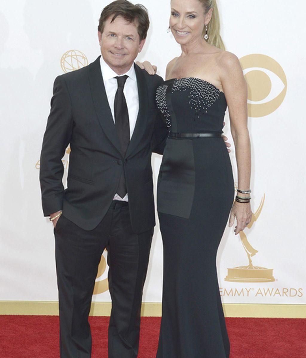 Michael J fox ('The good wife') y su esposa Tracy Pollan