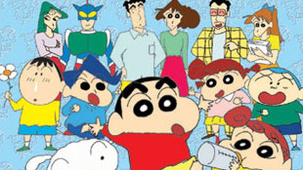 Imagen de la serie de dibujos 'Shin Chan'.