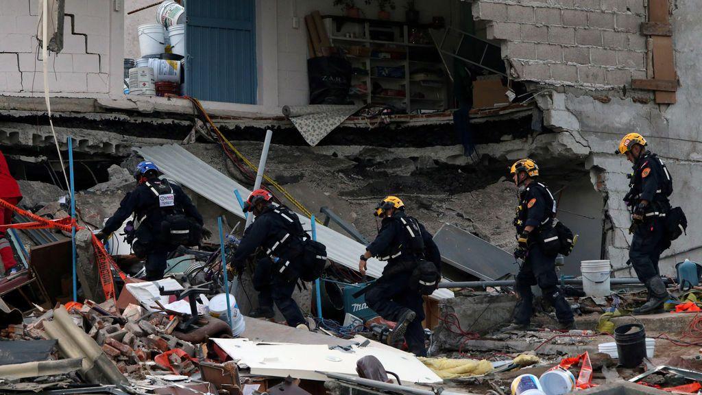 Detenidas las operaciones de rescate en Ciudad de México por un nuevo terremoto en Oaxaca