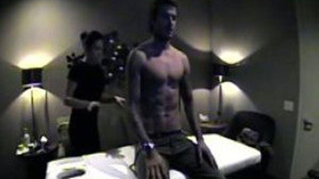 Beckham, vendedor de cosméticos