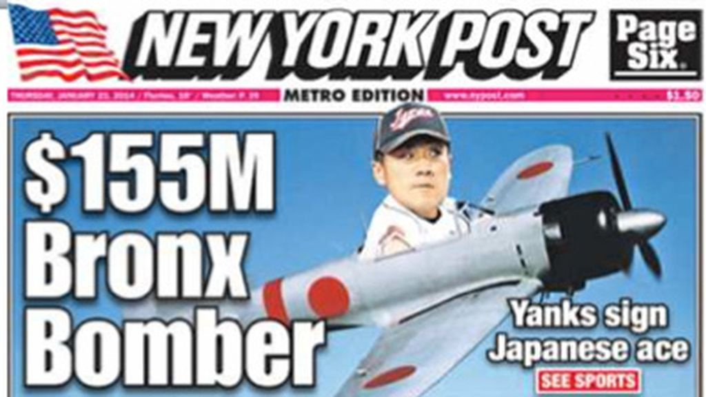 Portada 'New York Post'