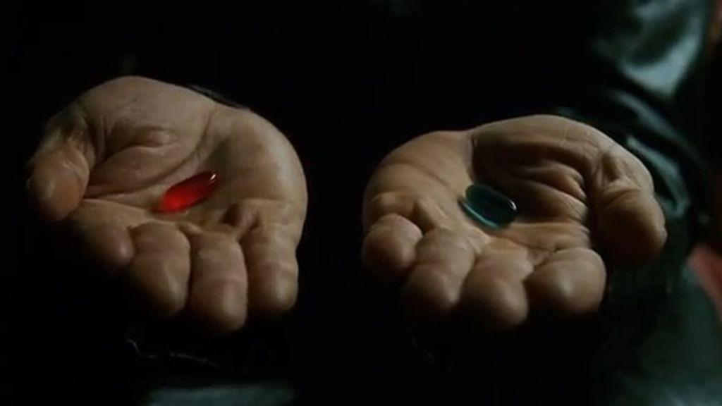 ¿Píldora azul o píldora roja?