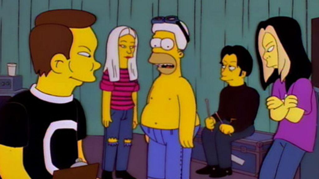 Homer y The Smashing Pumpkins, compañeros de gira