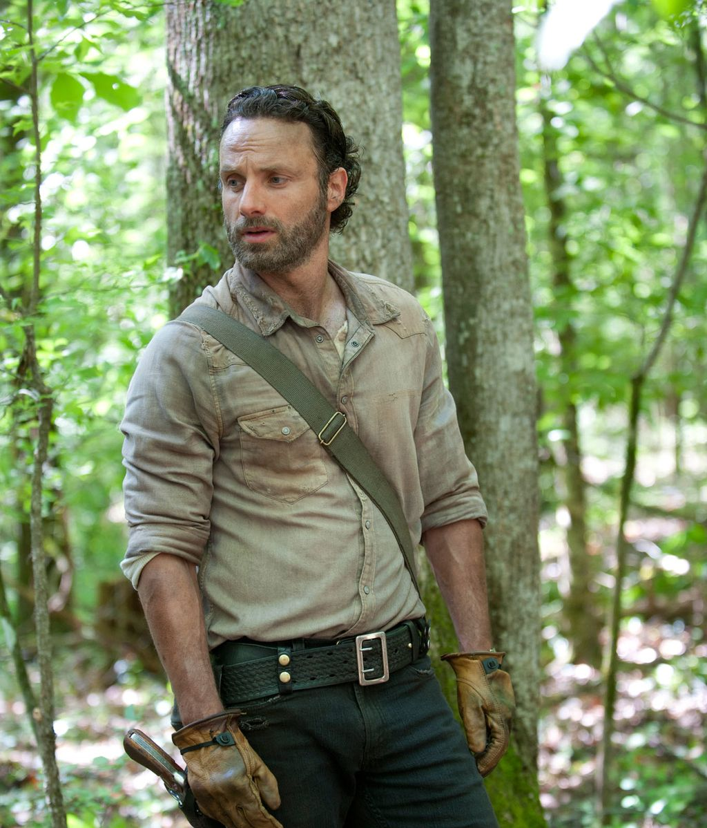 Andrew Lincoln, 'The walking dead'