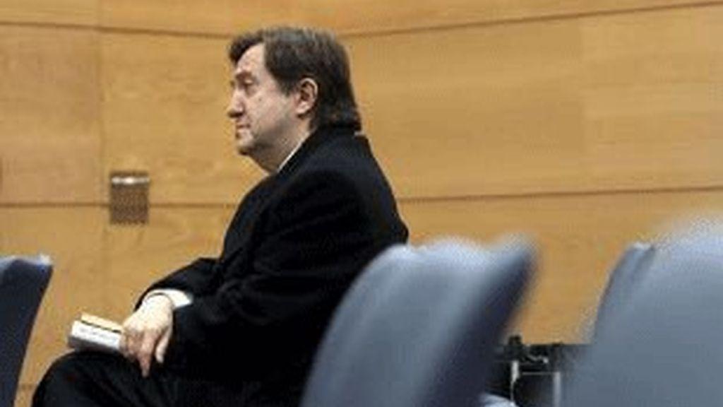 Federico Jiménez Losantos, en los juzgados.