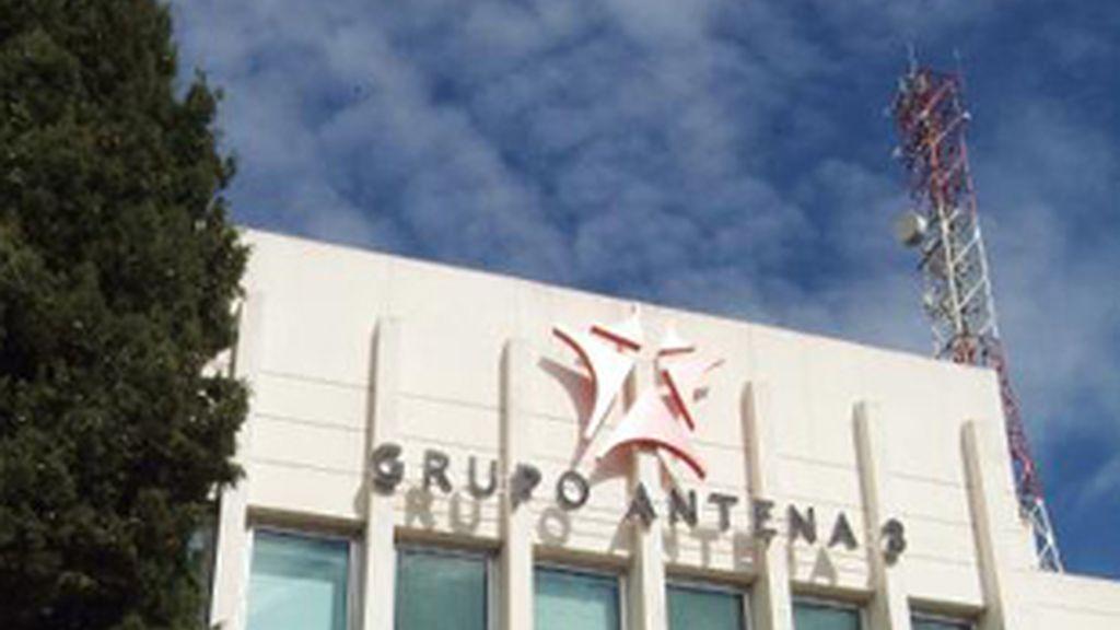 Fachada del edificio de Antena 3.