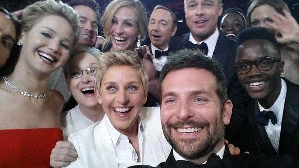 El 'selfie' de los Oscar