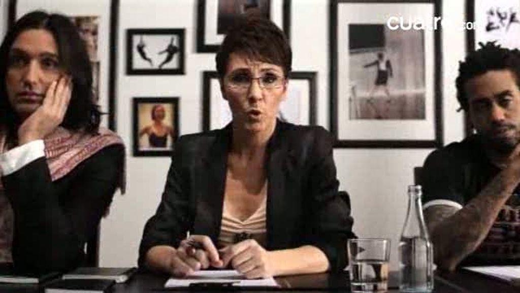 El casting de Tania Llasera