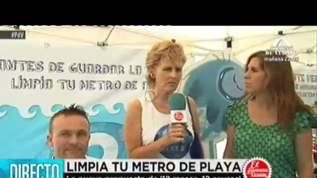 Mercedes Milá presenta en Menorca la campaña de limpieza de playas