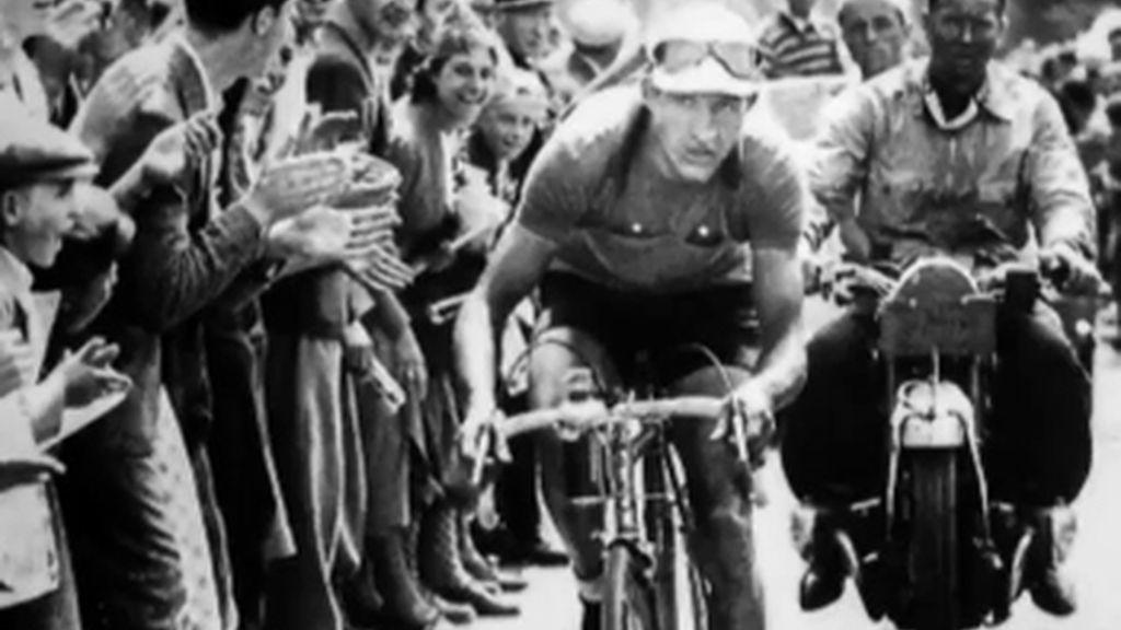 El ciclista Gino Bartali, en 'Informe Robinson'