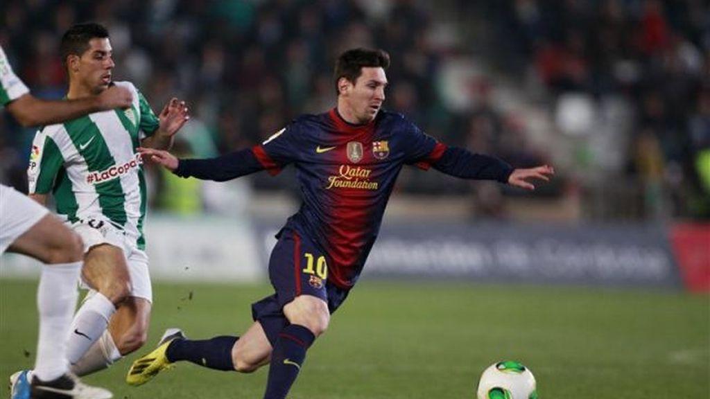 Messi balón