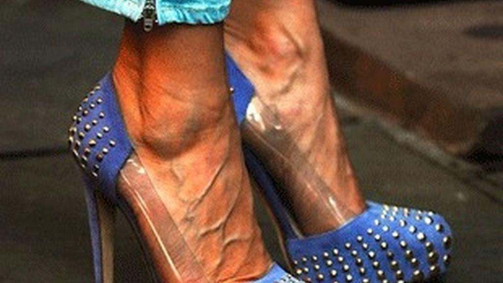 Los pies de Sarah Jessica Parker.