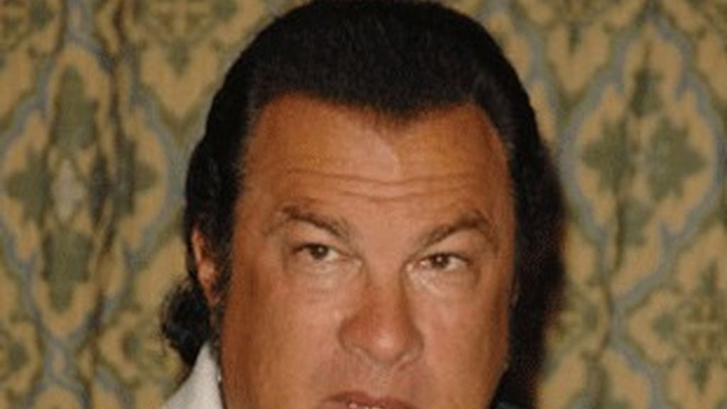 El actor Steven Seagal.