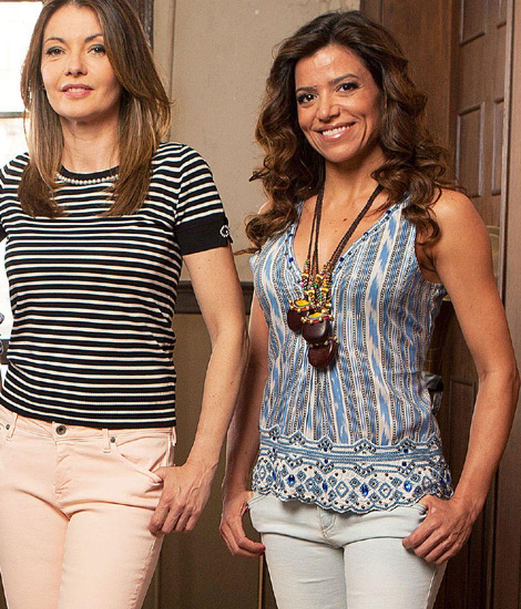 Susana Becquer es Sofía y Chus Herranz es Clara