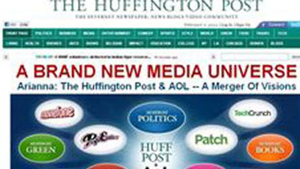Portal web de noticias 'The Huffington Post'.