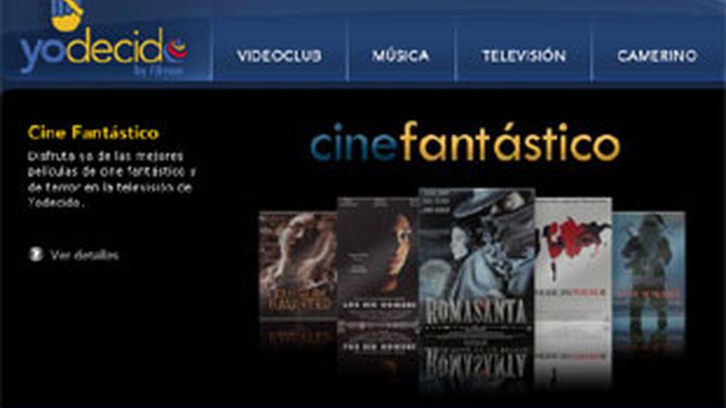 'Yodecido.com', un portal de distribución de contenidos por Internet.