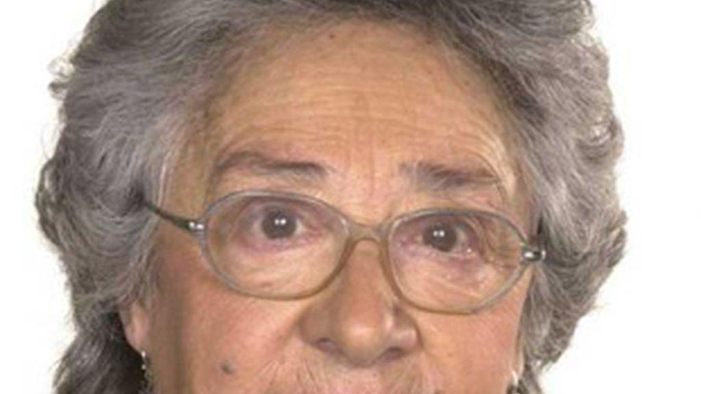 La actriz Isabel Osca.