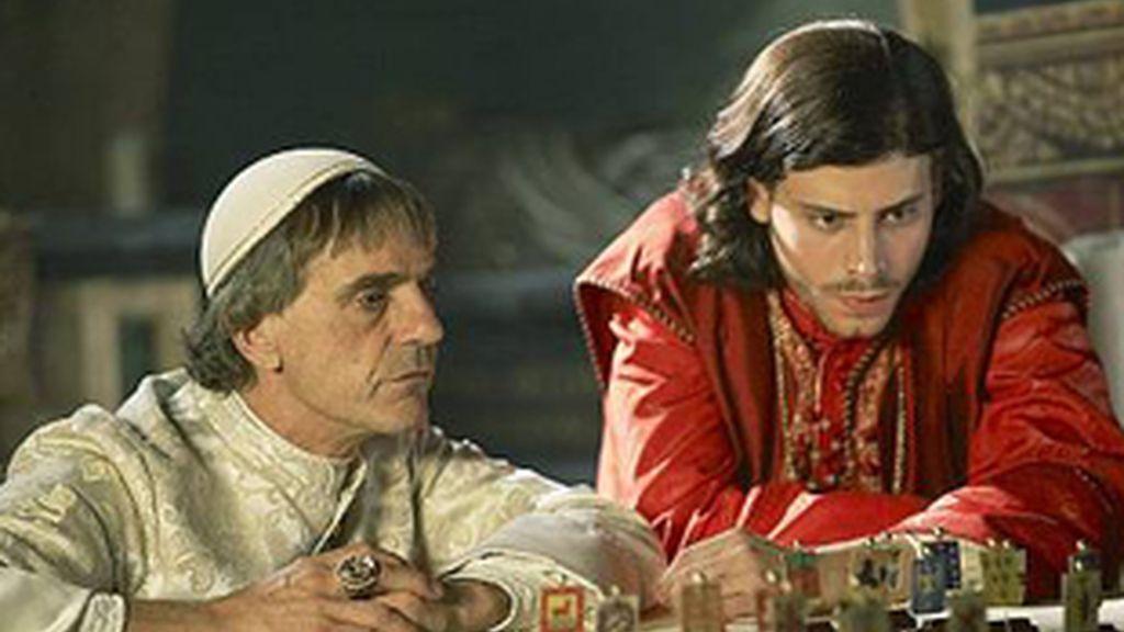 Una escena de la serie 'Los Borgia'.