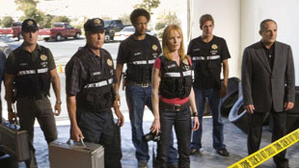 Imagen promocional de 'CSI'.