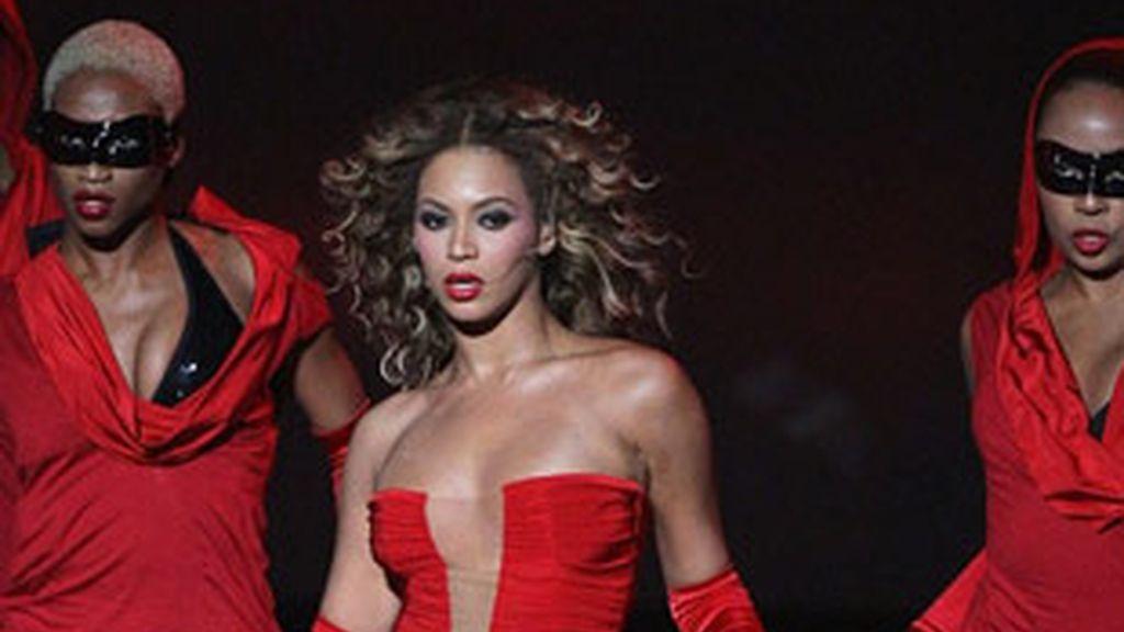 Beyoncé fue la auténtica protagonista de la gala de los premios MTV del año pasado.