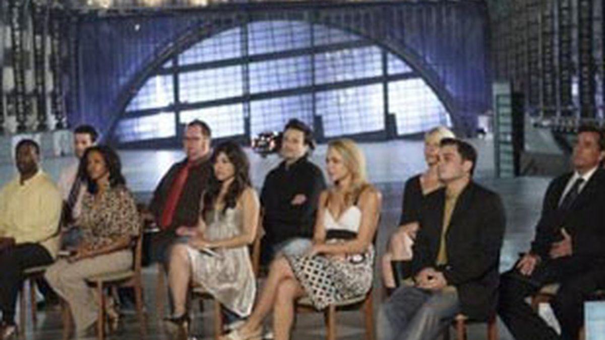 Concursantes de la versión estadounidense de 'The mole'.