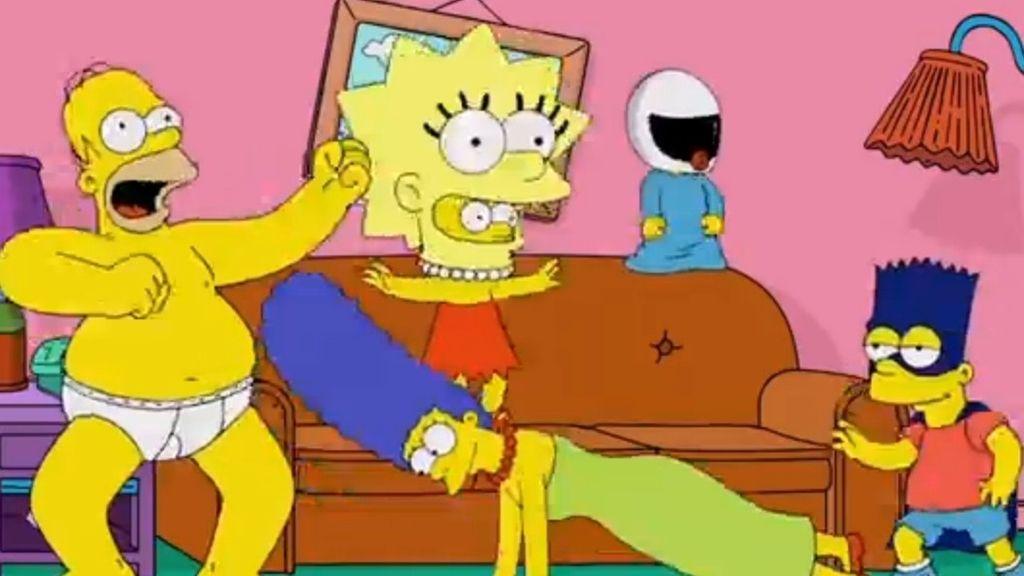 'Los Simpson' se apuntan al 'Harlem Shake'