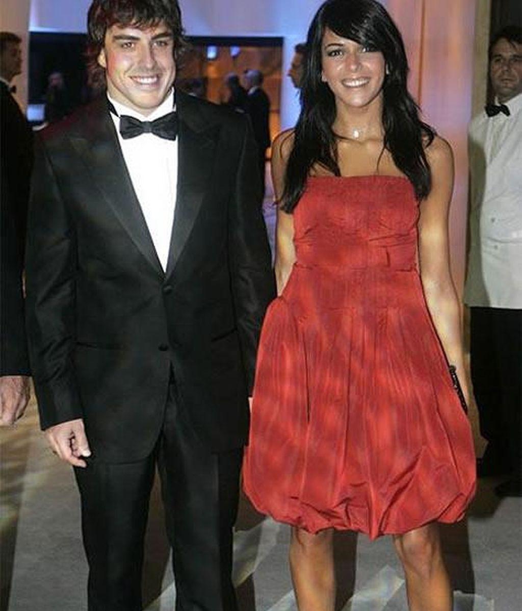 Raquel del Rosario y Fernando Alonso