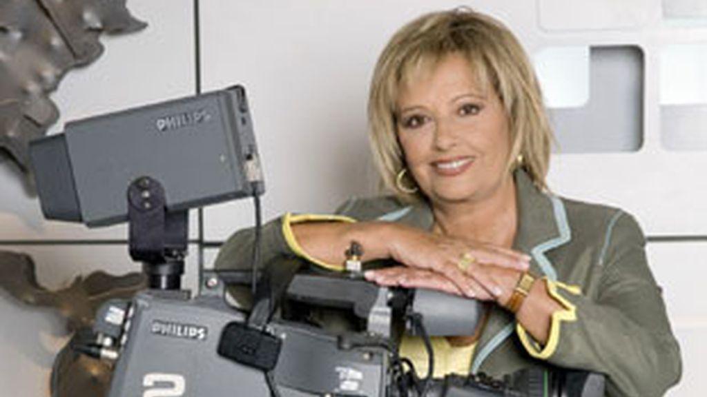 Mº Teresa Campos, presentadora de 'La Mirada Crítica'