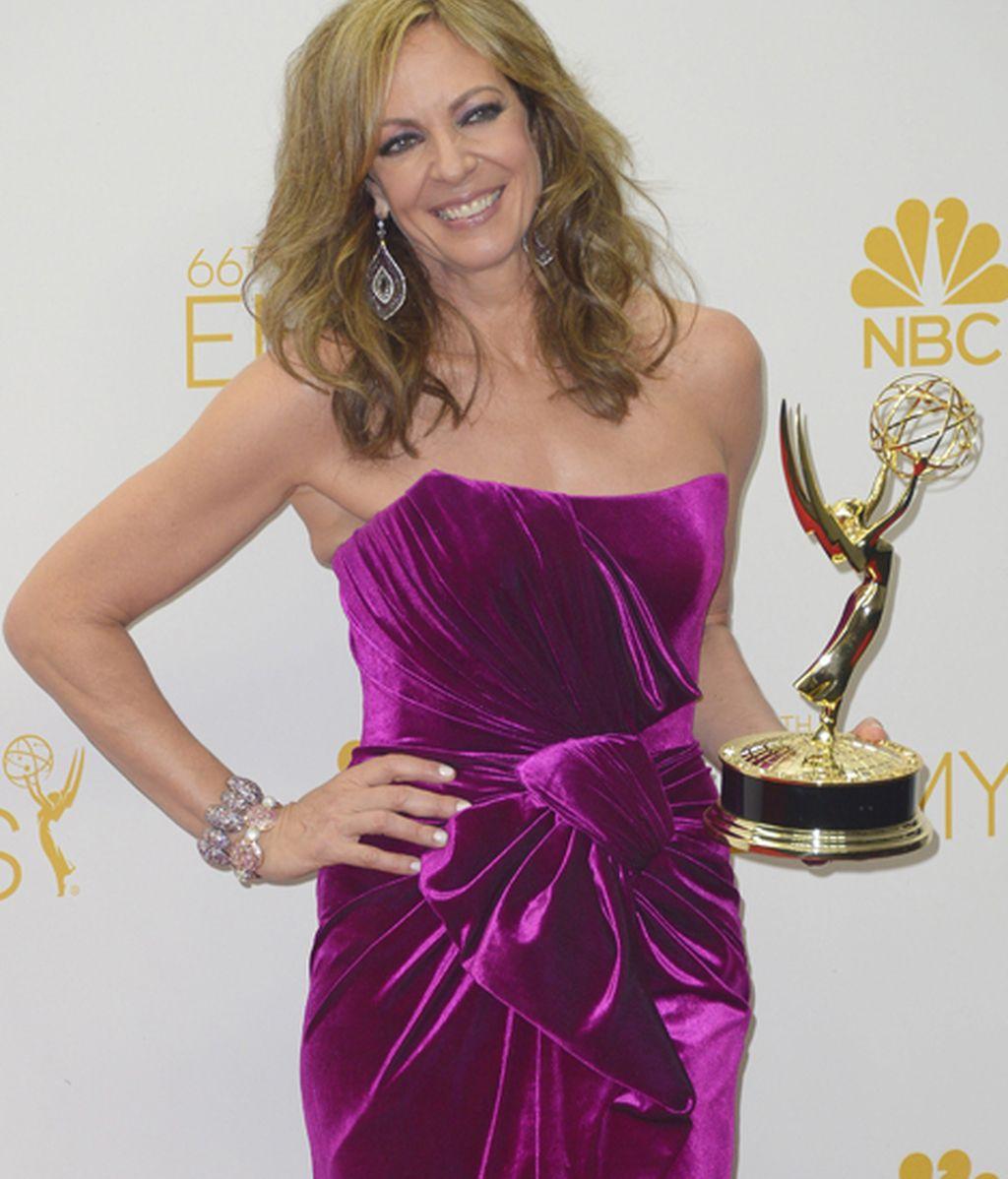 Allison Janney, mejor actriz de reparto en comedia por 'Mom'
