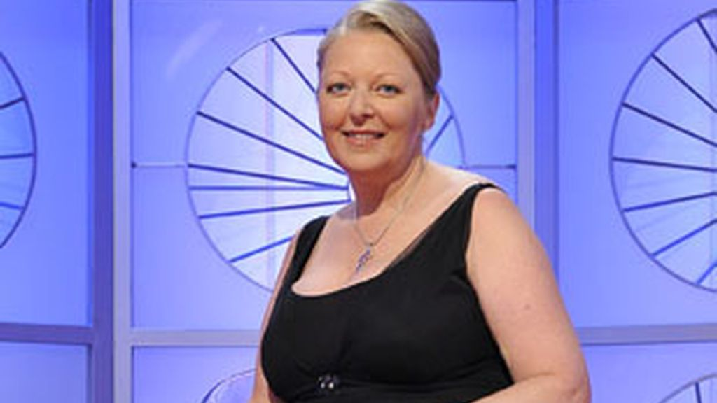 Anne Germain, en el plató del programa.