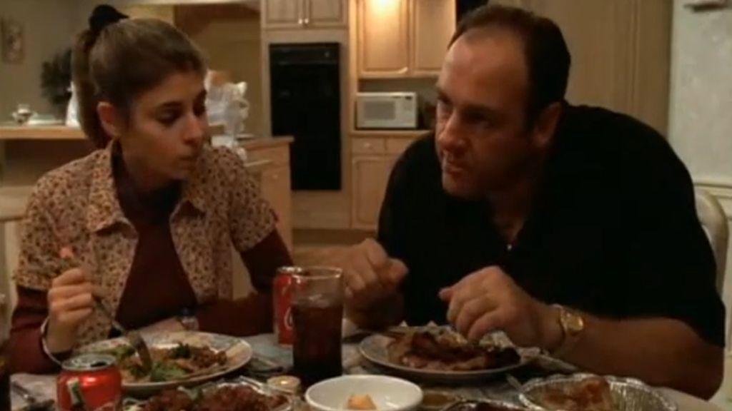 Cena en casa de la mafia