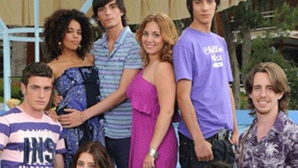Reparto de la nueva serie de Telecinco 'Segunda oportunidad'.