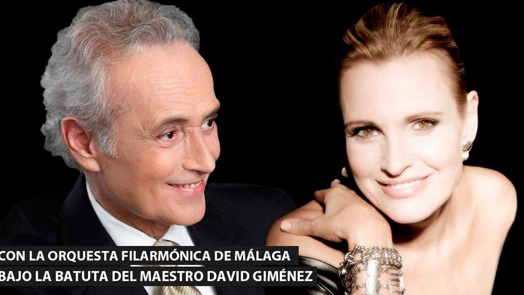Josep Carreras y Ainhoa Arteta, en Starlite Festival