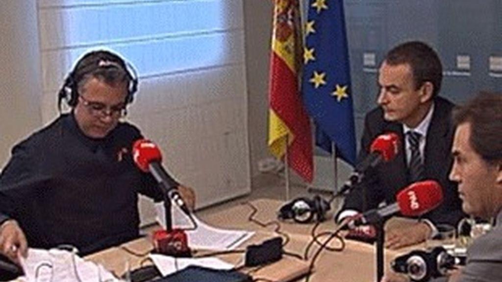 José Luis Rodríquez Zapatero en RNE.