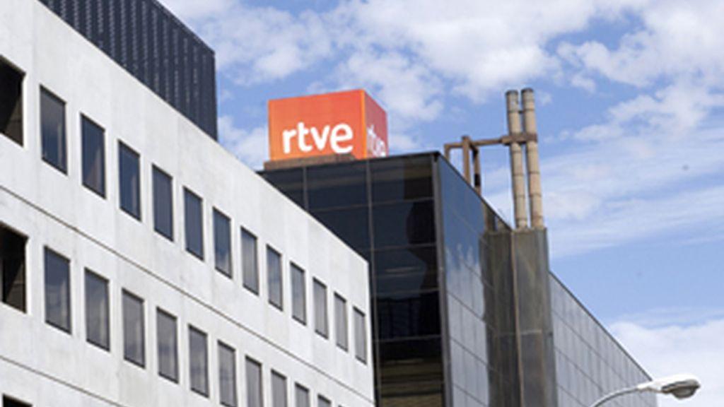 Sede de RTVE en Torrespaña (Madrid).
