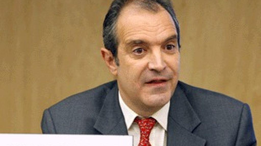 Luis Fernández, en el Congreso.