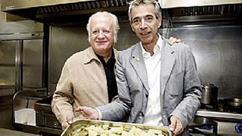 Juan Echanove (izquierda) e Imanol Arias.