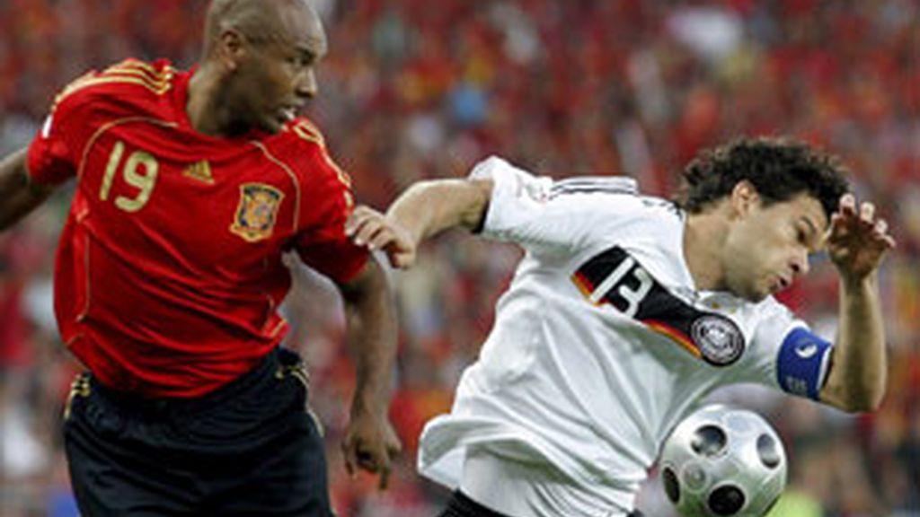 Imagen de la final de la Eurocopa.